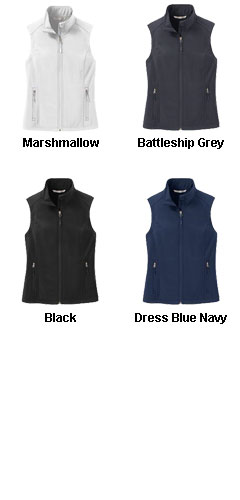 Ladies Core Soft Shell Vest - All Colors