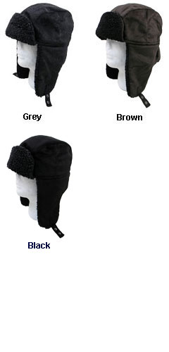Fleece Lined Aviator Hat with Earflaps - All Colors