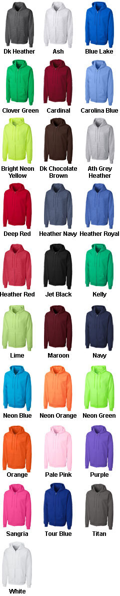 Basic Fleece Full Zip Hoodie - All Colors