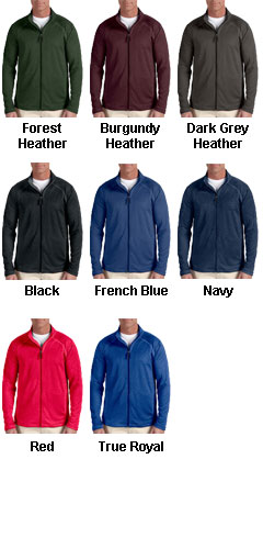 Mens Stretch Tech-Shell® Compass Full Zip - All Colors