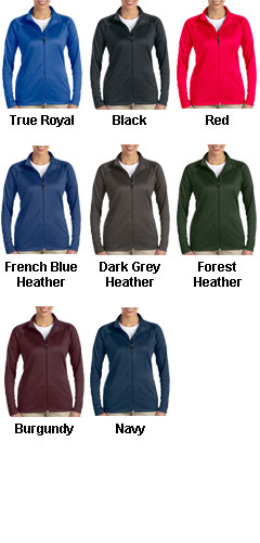 Ladies Stretch Tech-Shell® Compass Full Zip - All Colors