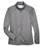 Custom Devon & Jones Ladies Stretch Tech-Shell® Compass Full Zip