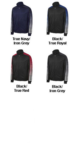 Dot Sublimation Tricot Track Jacket - All Colors