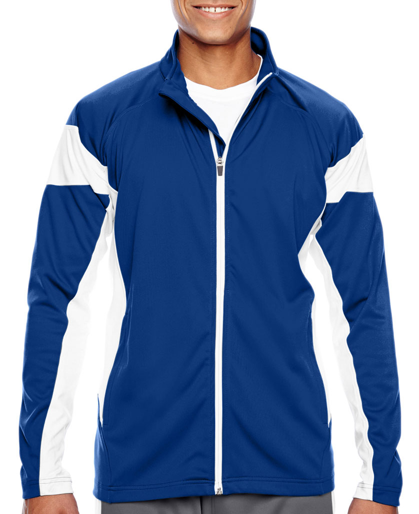 Team 365 Mens Elite Performance Full Zip Jacket