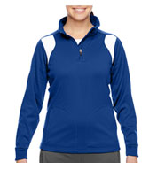 Custom Team 365 Ladies Elite Performance Quarter-Zip