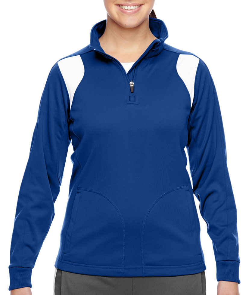 Team 365 Ladies Elite Performance Quarter-Zip
