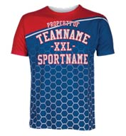 Custom Mens Spectrum Sublimated Tee