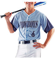 Sublimated Prosphere Baseball Jerseys