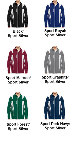Mens Icon Colorblock Soft Shell Jacket - All Colors
