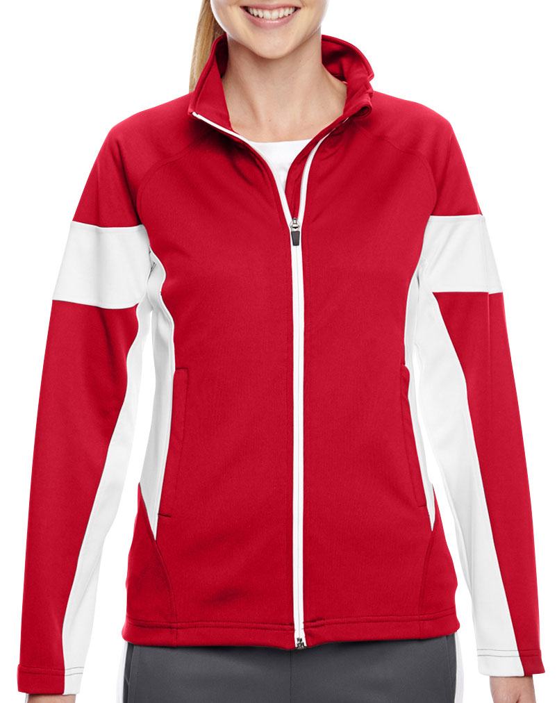 Ladies Elite Performance Full-Zip Warm Up Jacket