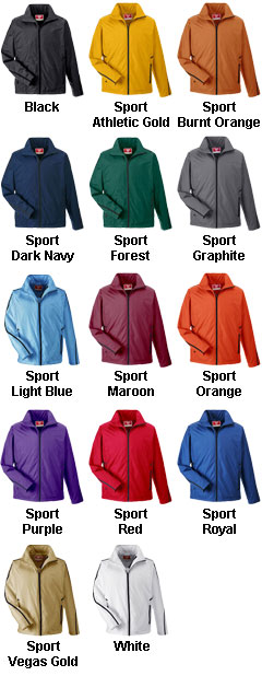 Adult Conquest Jacket with Micro Fleece Lining - All Colors