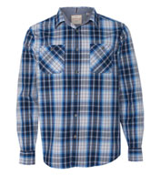 Weatherproof® Mens Vintage Plaid Long Sleeve Shirt