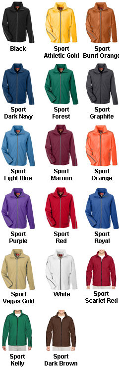 Adult Conquest Jacket with Mesh Lining - All Colors