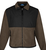 Custom Tri-Mountain Mens Frontiersman Fleece Jacket