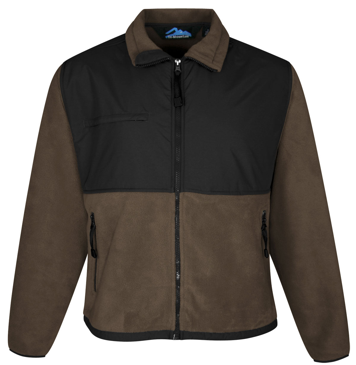 Tri-Mountain Mens Frontiersman Fleece Jacket