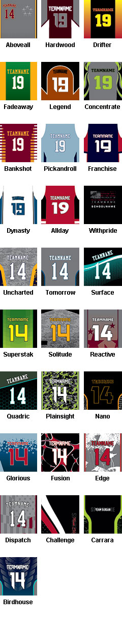 Custom Sublimated Sleeveless T-Shirt - All Patterns
