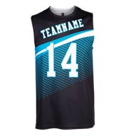 Custom Spectrum Sublimated Sleeveless T-Shirt