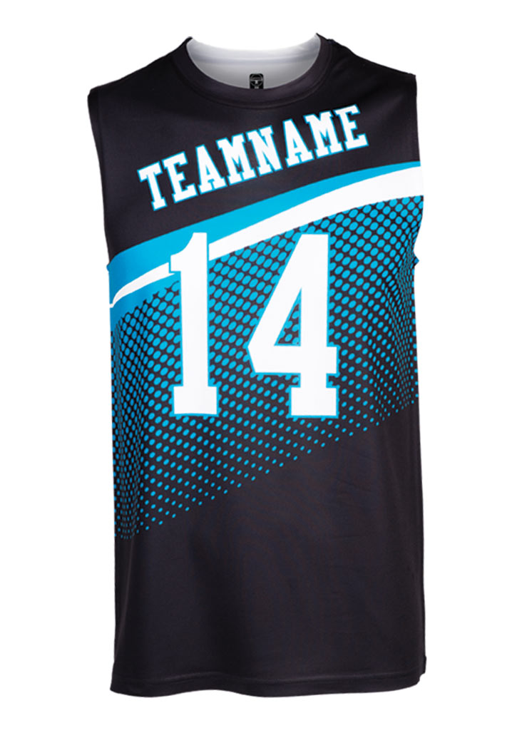 Custom Mens Sublimated Sleeveless T-Shirt