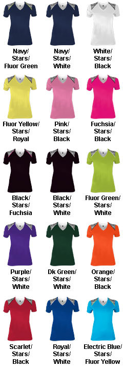 Youth Girls Starlet Tech Tee - All Colors