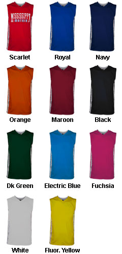 Youth Matrix Basketball Jersey - All Colors