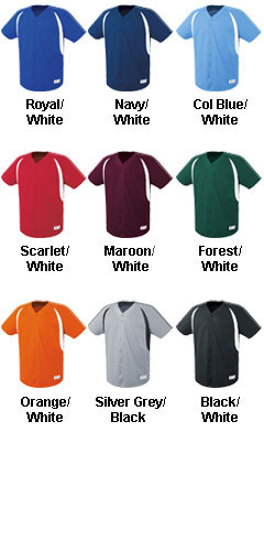 Youth Impact Full Button Jersey - All Colors