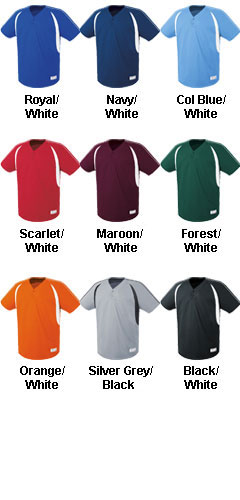 Youth Impact Two-Button Jersey - All Colors