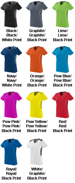 Girls Vigorous Jersey - All Colors