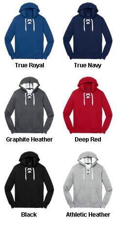 Lace Up Pullover Hooded Sweatshirt - All Colors