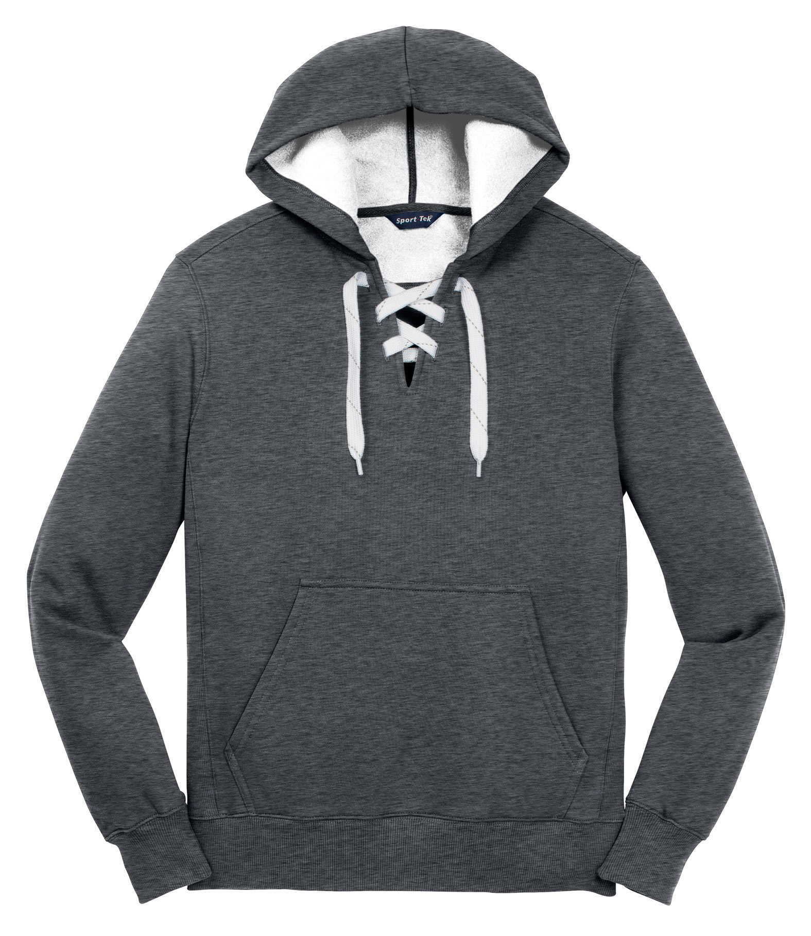 Custom Lace Up Pullover Hooded Sweatshirt Mens 3de970cd9