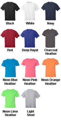 Hanes Youth X-Temp T-shirt - All Colors