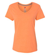 Hanes Womens X-Temp® V-Neck T-Shirt