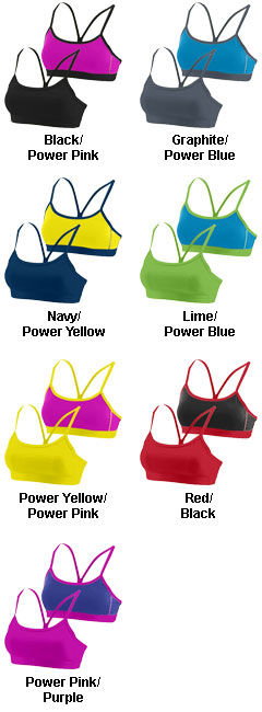 Ladies Encore Reversible Bra - All Colors