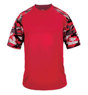 Custom Adult Camo Sport Tee Mens