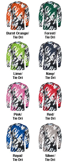 Tie Dri Long Sleeve Tee - All Colors