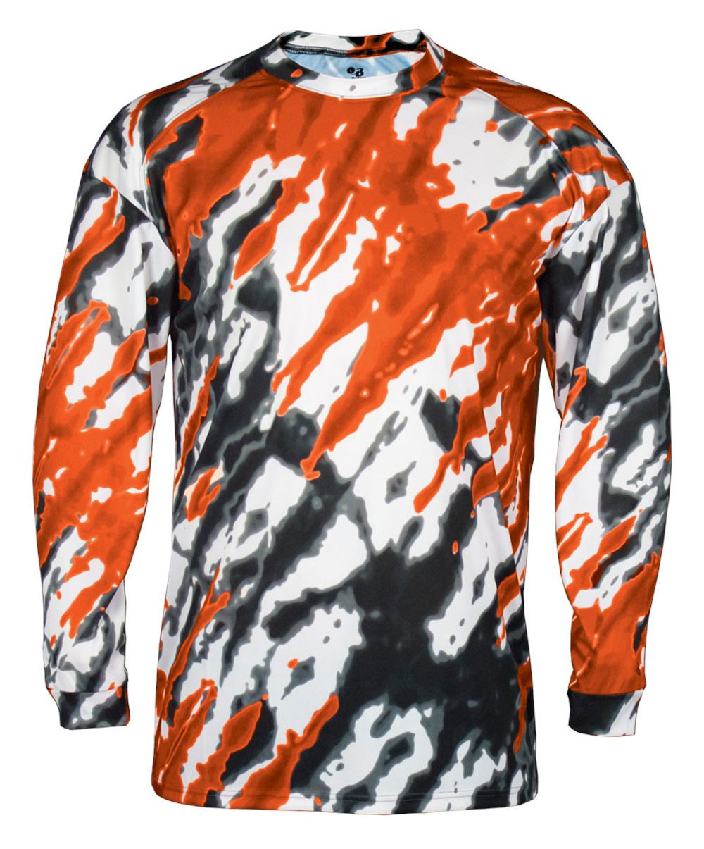 Tie Dri Long Sleeve Tee