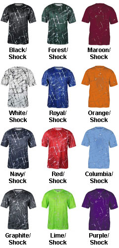 Adult Shock Tee - All Colors