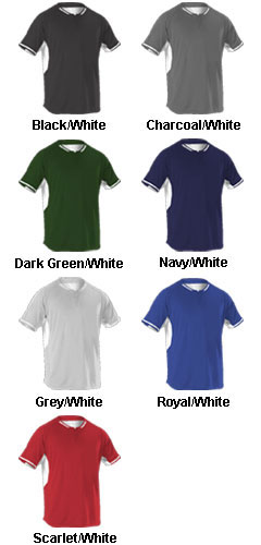 Youth eXtreme Dura-Light 2-Button Jerseys - All Colors