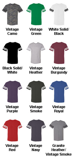 Mens Vintage Football T-Shirt - All Colors