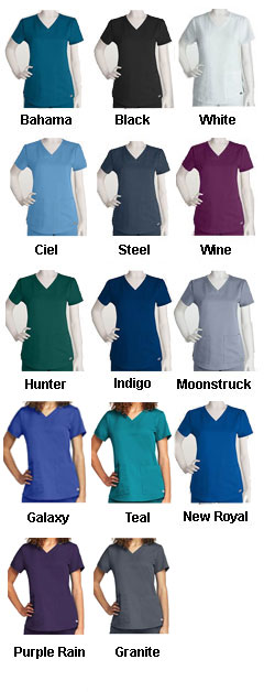 Greys Anatomy™ V-Neck Scrub Top - All Colors