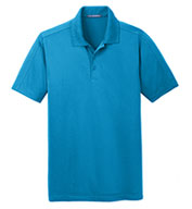 Custom Port Authority® Mens Diamond Jacquard Polo