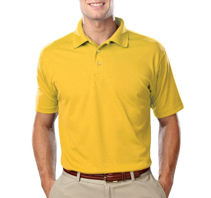 Mens Value Moisture Wicking Polo