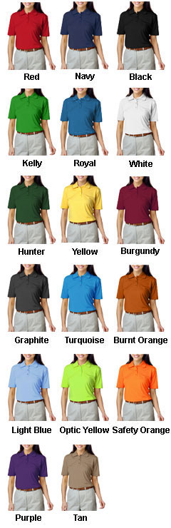 Ladies Value Moisture Wicking Polo - All Colors