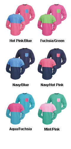 Contrast Surfboard Crew with Contrast Pocket - All Colors