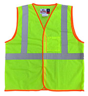 Custom Game Sportswear Adult Econo-Safety Mesh Vest