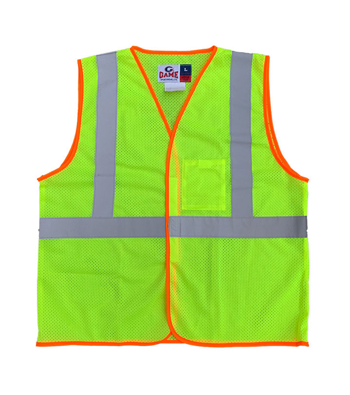 Game Sportswear Adult Econo-Safety Mesh Vest