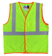 Custom The Econo-Safety Polyester Vest