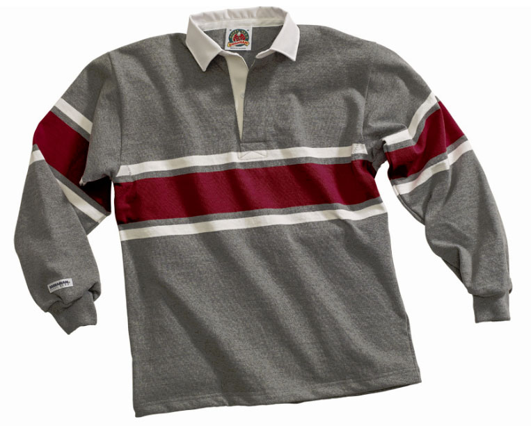 16f3c0fc4 Customize Mens Acadia Classic Rugby Shirt