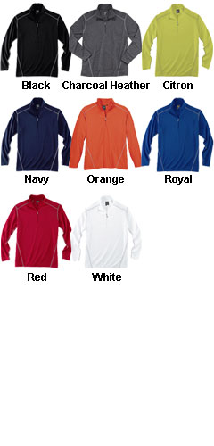 Rivers End Mens Half Zip Mock Cover Up - All Colors