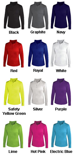 1/4 Zip Ladies Lightweight Pullover - All Colors