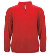 Custom Badger Mens Lightweight 1/4 Zip Pullover